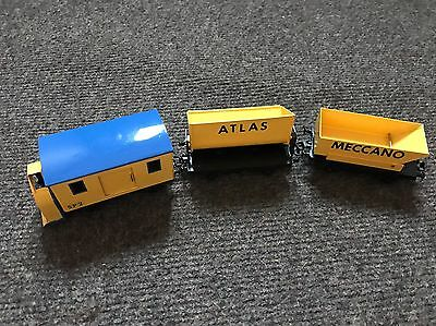 Hornby Dublo Snow Plough With 2 Wagons 0 Gauge