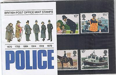 GB Presentation Pack 112 1979 Police 10% OFF 5