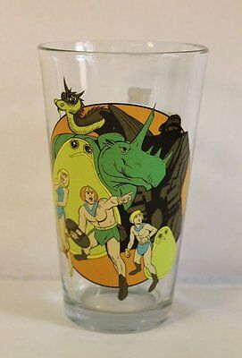 Herculoids 'TOON TUMBLER 16 oz.Pint Glass Hanna-Barbera