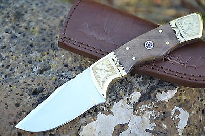 LAVER'S Hand Made Damascus Steel Hunting Knife *** COMPANION ***
