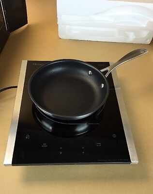 New Frigidaire Gallery Portable Induction Burner Cooker Stove Top + Frying Pan