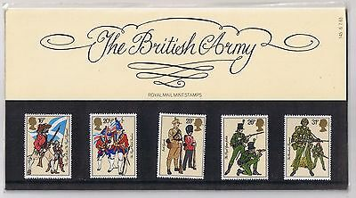 GB Presentation Pack 145 1983 The British Army 10% OFF 5