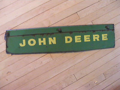 John Deere ~~ Metal Farm Machinery Cut Out ~~5 x 22