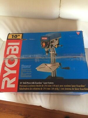 Ryobi DP102L 10 in. Drill Press with Laser New - Free Shipping