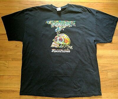 Los Lonely Boys Rockpango Black VIP T-Shirt 2XL