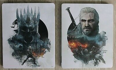 Steelbook The Witcher 3 : Wild Hunt Boitier Collector Neuf Ps4 Xbox One