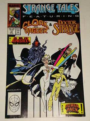 Marvel Strange Tales Issue # 13 April 1988 'disorderly Conduct' Gd Con Punisher