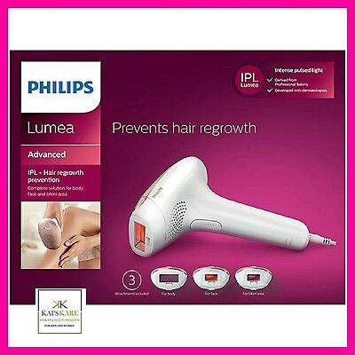 Philips Lumea Prestige 2009/00 Face Body Hair Regrowth Prevention FAST FREE P&P!