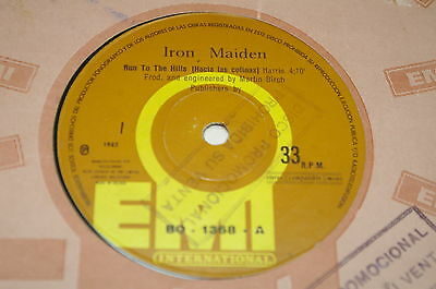 "Iron Maiden - 7¨run To The Hills / Total Eclipse Collection ""bolivia"" Promo"