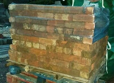 200 reclaimed hand made bricks wire cut. 600 available.