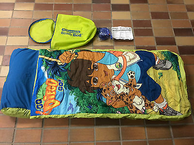 Ready Bed Marshmallow Inflatable Sleeping Bag Bed With Pump Go Diego Go Jaguar