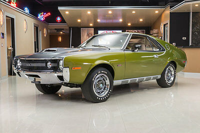 1970 AMC AMX  Full Nut & Bolt Restoration! 401ci V8, Borg Warner T10 4-Speed, PS, PB, Disc!