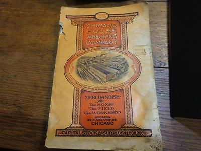Antique 1906 Chicago House Wrecking Company Catalog #152 St Louis Worlds Fair