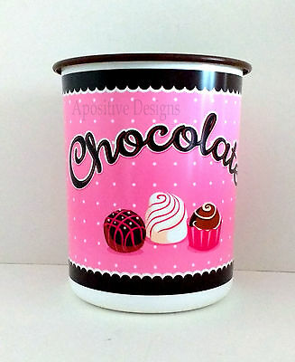 Tupperware Chocolate Lover's Candy Cookie Snack Canister Storage Container