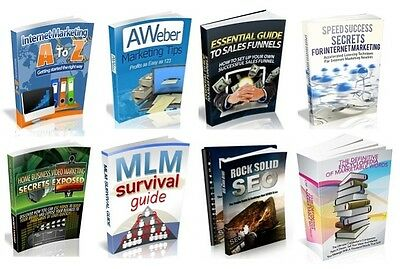 100 MRR Marketing Ebooks with resell rights (Only 5 ¢ per Book) in PDF