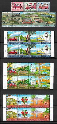 Nations Unies neuf**   lot timbres  train chemin de fer  railway