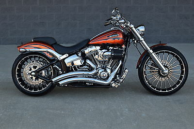 2014 Harley-Davidson Softail  2014 FXSBSE SCREAMIN EAGLE CVO BREAKOUT **MINT** ADULT OWNED! LOW PMTS! HURRY!!