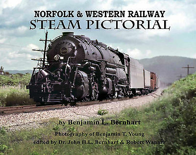 NORFOLK & WESTERN Railway STEAM Pictorial (A, J, Y, S, K, & M classes) NEW BOOK