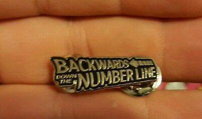 Phish hat pin backwards  down the # line back to the future #1 Grateful Dead