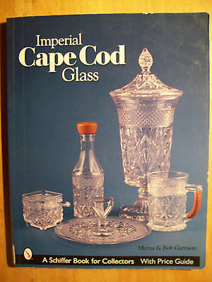 Vintage Antique Imperial Cape Cod Glass Price Guide Collector Book