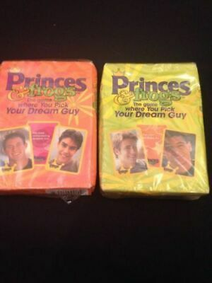 Princes & Frogs USA released card game x 2 packs - Fun imaginary dating game (G3