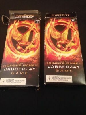 NECA The Hunger Games Jabberjay trading Card Game sets x 2 Damaged packaging (G7