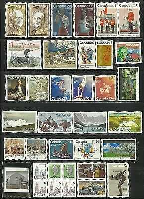 Canada. Selection of 36 stamps.
