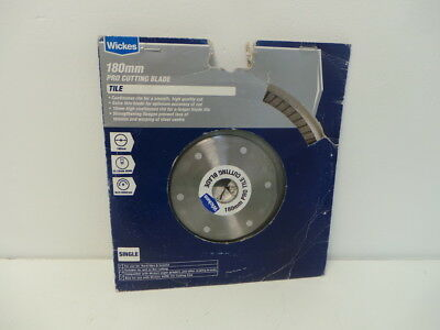 Wickes 180mm Pro Tile Cutting Blade