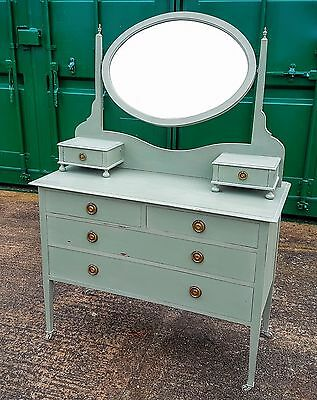 Antique Edwardian Painted Dressing Table