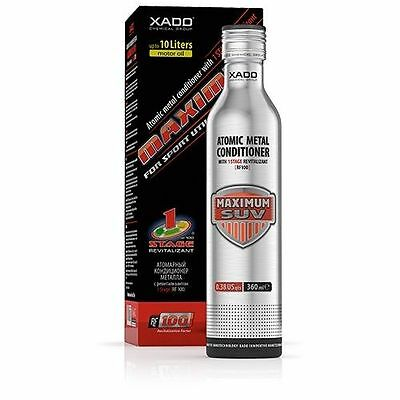 Xado Additivo Trattamento Olio antiattrito Atomic Metal Maximum SUV XA 42015
