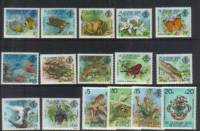 Seychelles Outer Islands 1980-81 set unmounted mint