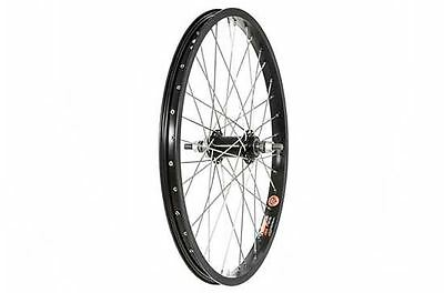 Diamondback BMX 20 inch BMX Wheel Rear black 3/8 inch nutted. Black 20 inch