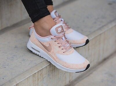UK 3.5 Nike Air Max Thea Print GS Trainers EUR 36 US 4Y Women's Girls Kids
