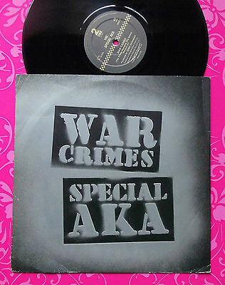 "SPECIAL AKA War Crimes 10"" UK 1982 1stP A1/B1 NM CLASSIC SPECIALS AT THER BEST!!"
