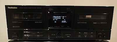 Technics RS-X102 Twin Tape Deck HiFi Separate Component