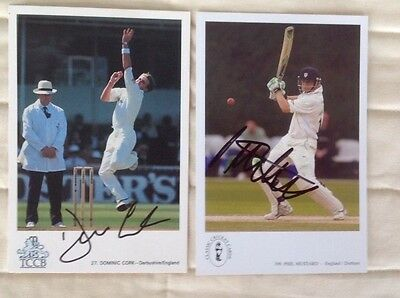 Two Classic Cricket Cards