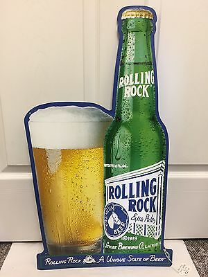 Latrobe Brewing Company Rolling Rock Extra Pale Beer Tin Sign, 939-I