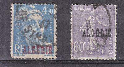 Algeria France O.p.t.d. 1924 2 Used Stamps