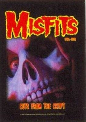 Misfits Cuts from the crypt Textile Poster Flag
