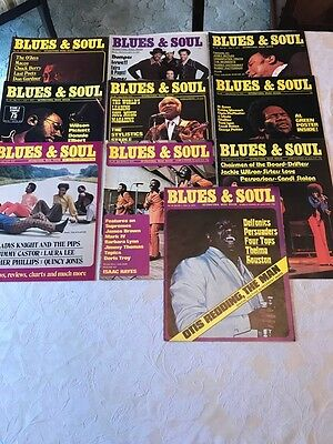 10 Blues and Soul Magazines - Issue's: 78,81,83,84,86,87,88,93,94,95