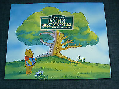Walt Disney Pooh,s Grand Adventure  Lithograph (With 4 Lithograpths)