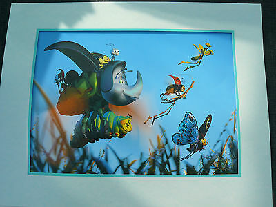 Walt Disney A Bugs Life 1999  Lithograph With Envelope