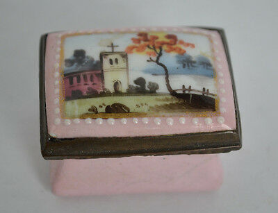 18th Century English Battersea / Bilston Enamel Box