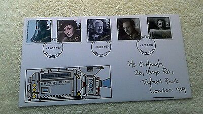 BRITISH FILMS FIRST DAY COVER 1985 London    C15