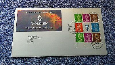 TOLKIEN THE CENTENARY 1892-1992 FIRST DAY COVER Oxford    C16