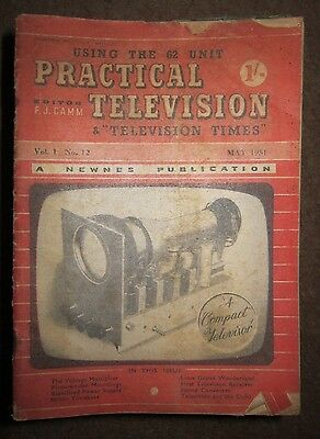 Practical Television 1951 - 1955 approximately 55 copies
