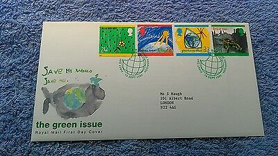 THE GREEN ISSUE FIRST DAY COVER 1992 Torridon      E2