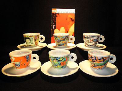 Illy Collection 1996 Serie Videogrammi By N. J. Paik Tazzine Espresso