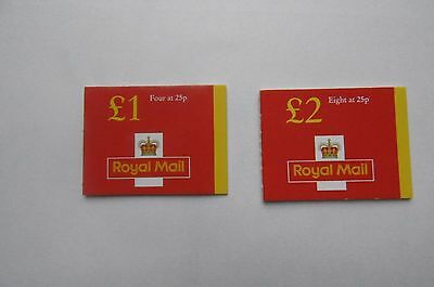 G B, QE II Booklet 1996 £1.00 and £2.00 MNH.