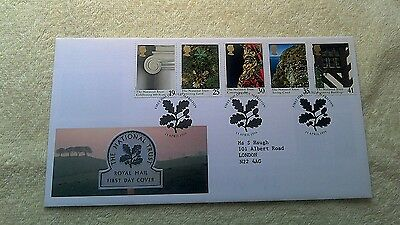 THE NATIONAL TRUST FIRST DAY COVER 1995  Alfriston      E4
